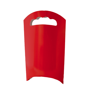 Sacos Vermelhos Papel , 6 unid