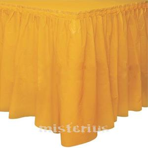 Saiote Mesa Amarelo, 73 x 426 cm