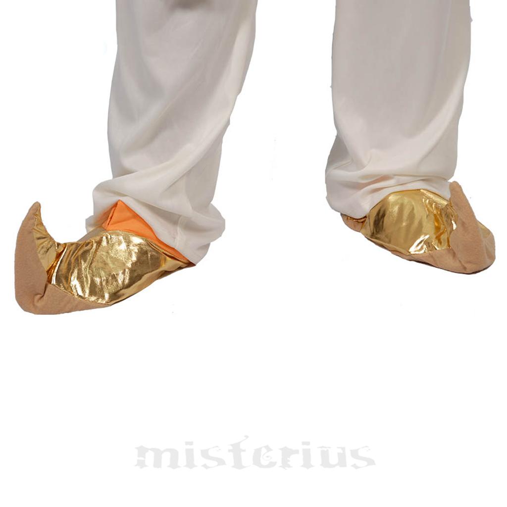 Sapatos Árabe Dourados