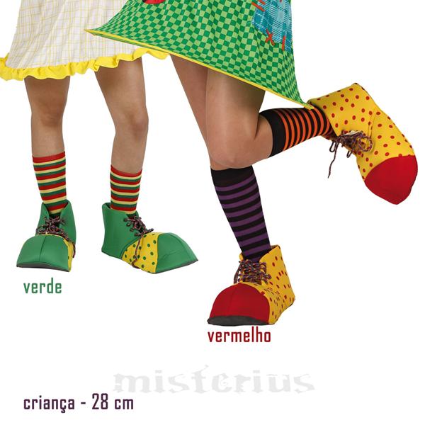 Sapatos de Palhaço, 28 cm