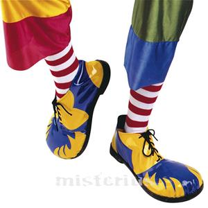 Sapatos Palhaço Chamas Adulto