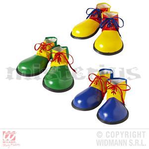 Sapatos Palhaço Colorido