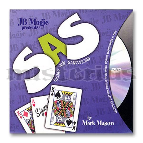 SAS com dvd - JB Magic