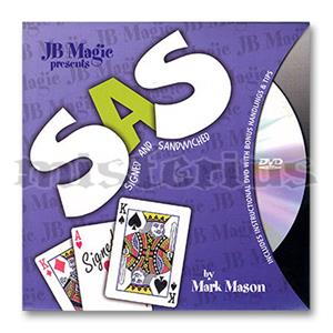 SAS com dvd - JB Magic