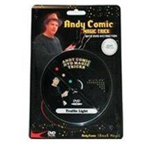 Semáforo Mágico com dvd - Andy Comic;