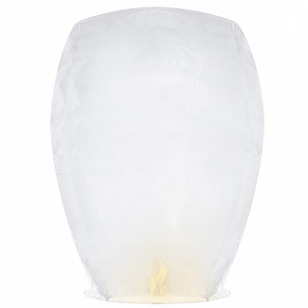 Sky Lanterna do Amor Branco