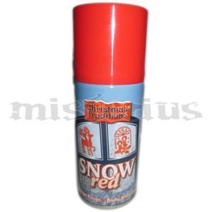 Spray Neve Vermelho