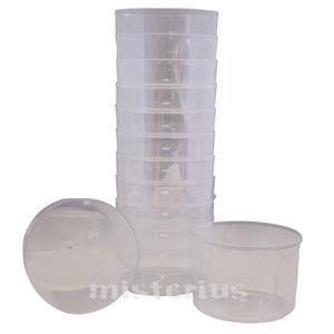 Taça Sobremesa Transparente 12 un