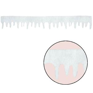 Tira Decoração Neve 18x245cm
