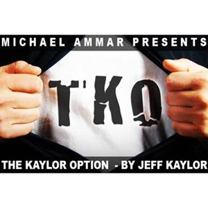 TKO: The Kaylor Option (DVD+Gimmick)