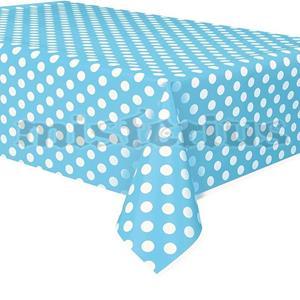 Toalha Azul Bebé Bolinhas, 137 x 274 Cm