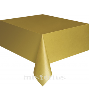 Toalha Mesa Dourada, 1.37 x 2.74mt