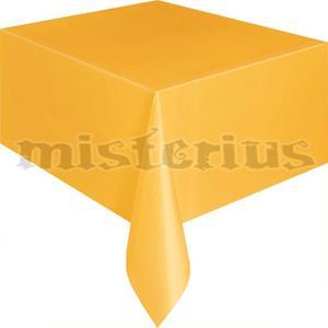 Toalha Mesa Amarela, 137 x 274 cm