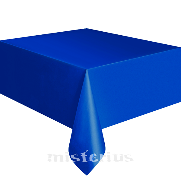Toalha Mesa Azul Escuro, 137 x 274 Cm