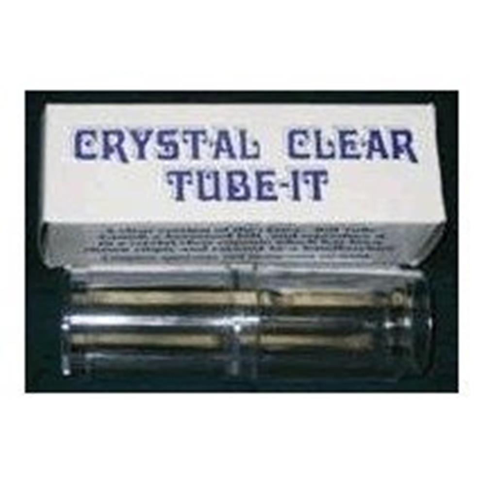 Tubo Cristal para Notas