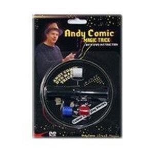 Tubo que muda de cor com DVD - Andy Comic;