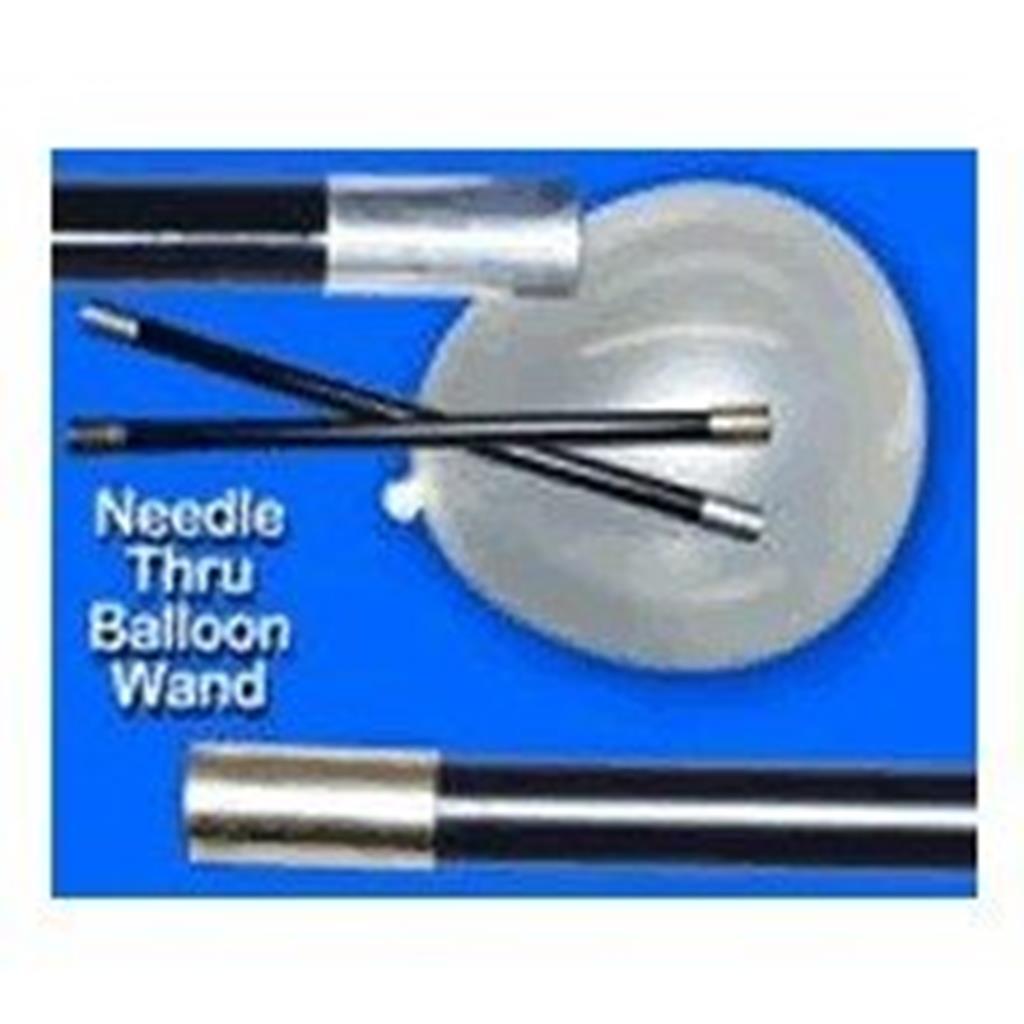Varinhas Lubrificação agulhas através Balão, Needle Balloon;